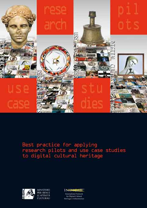 INDICATE Best practice for applying research pilots and use case studies to digital cultural heritage: cover